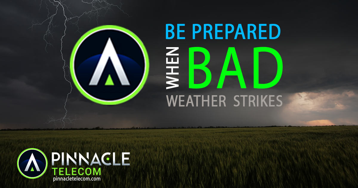 Be Prepared, Not Scared!